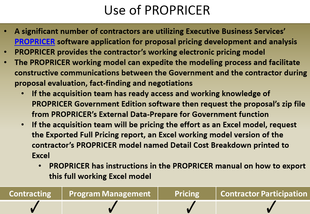 DAU-DoD-Sole-Source-Streamlining-Toolbox-1-6-Obtain-Electronic-Cost-Models-via-RFP-b