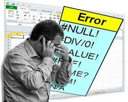 Excel errors are frustrating